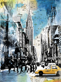 Urban Sights IV Giclee Print by Alan Lambert