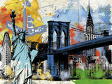 Urban Liberty Giclee Print by Alan Lambert
