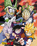 Dragonball Z- Cell Saga Cast Poster