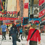 Being Part - New York Giclee Print by Susan Brown