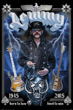 Motorhead- In Memory Of Lemmy Pôsters