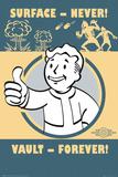 Fallout 4- Vault Forever - Posterler