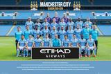 Manchester City- Team 15/16 Plakaty
