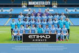 Manchester City- Team 15/16 Poster