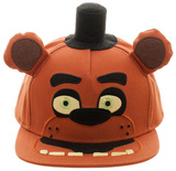 Five Nights At Freddy's- Freddy Snapback Hat