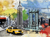 Urban Empire Giclee Print by Alan Lambert