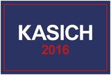 Kasich 2016 Patriotic Blue Print