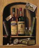 Jameson Irish Whiskey Giclee Print by Raymond Campbell