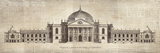 School of Padua - Design for a Palace in the County of Oxfordshire - Poster