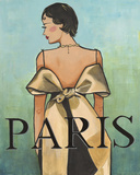 Paris Giclee Print by Juliette McGill