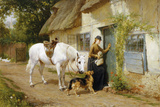 The Visitor Giclee Print by George Augustus Holmes