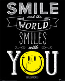 Smiley World- World Smiles With You Posters
