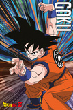Dragonball Z- Poised Goku Prints