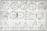 Geometry Giclée-tryk af Chris Dunker