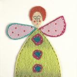 Fuzzy Fairy II Giclee Print by Madeleine Millington