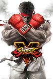 Street Fighter 5- Ryu Key Art Affiche