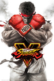 Street Fighter 5- Ryu Key Art Stampa