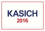 Kasich 2016 Patriotic White Posters