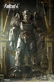 Fallout 4- Key Art Poster Kunstdruck