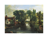 The Mill Stream, Willy Lott's House Premium Giclee Print by John Constable