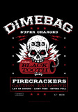 Dimebag- Firecracker Label Photo