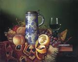 Still Life with Fruit II Impression giclée par Raymond Campbell