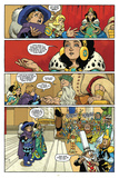 Little Nemo: Return to Slumberland - Comic Page with Panels Poster di Gabriel Rodriguez