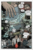 Locke and Key: Volume 2 - Comic Page with Panels Foto di Gabriel Rodriguez