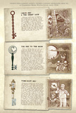 Locke and Key: Guide to the Known Keys - Bonus Material Poster di Gabriel Rodriguez