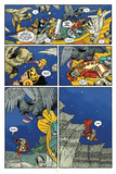 Little Nemo: Return to Slumberland - Comic Page with Panels Stampe di Gabriel Rodriguez