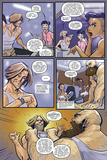 Anthony Diecidue - Zombies vs. Robots: Volume 1 - Comic Page with Panels Reprodukce