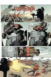 Zombies vs. Robots: Volume 1 - Comic Page with Panels Print by Val Mayerik