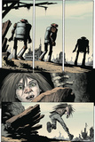 Zombies vs. Robots: Volume 1 - Comic Page with Panels Poster by Val Mayerik