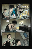 30 Days of Night: Volume 1 Beginning of the End - Comic Page with Panels Photo by Sam Kieth