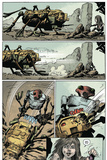 Zombies vs. Robots: Volume 1 - Comic Page with Panels Prints by Val Mayerik
