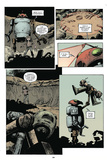Zombies vs. Robots: Volume 1 - Comic Page with Panels Art by Val Mayerik