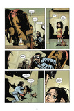 Zombies vs. Robots: No. 7 - Comic Page with Panels Prints by Paul Davidson