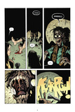 Zombies vs. Robots: No. 7 - Comic Page with Panels Print by Paul Davidson