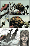 Zombies vs. Robots: Volume 1 - Comic Page with Panels Posters by Val Mayerik