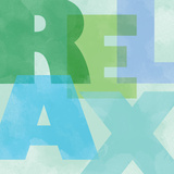 Relax Renew Square II Prints by  A Fresh Bunch