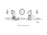 """I sell bonds. Municipal bonds."" - New Yorker Cartoon Premium Giclee Print by Mark Thompson"