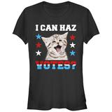 Juniors: Can Haz Votes? T-Shirt