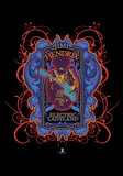 Jimi Hendrix- Psychedelic Electric Ladyland Poster