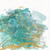 Watercolor Sealife I Posters af Julie DeRice