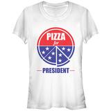 Women's: Pizza For Prez T-shirts