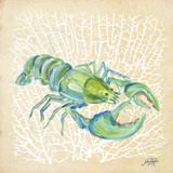 Sealife Lobster Posters by Julie DeRice