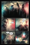 30 Days of Night: Eben & Stella - Comic Page with Panels Poster av Justin Randall