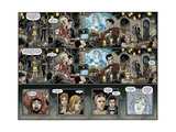 Locke and Key: Omega 4 - Comic Page with Panels Posters por Gabriel Rodriguez