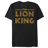 Lion King- Sahara Print Logo Shirt