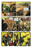 Zombies vs. Robots: Volume 1 - Comic Page with Panels Prints by Anthony Diecidue